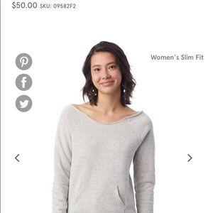 Alternative Apparel Maniac Eco-Fleece Sweatshirt